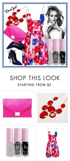 """""""Crazy#chic#colormix"""" by bamra ❤ liked on Polyvore featuring Loeffler Randall and Schutz"""