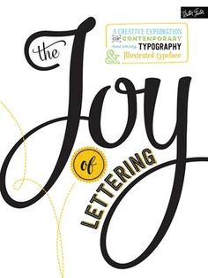 The Joy of Lettering : A Creative Exploration of Contemporary Hand Lettering, Typography & Illustrated Typeface by Gabri Joy Kirkendall and Jaclyn Escalera Paperback) for sale online Book Lovers Gifts, Book Gifts, Jar Gifts, Creative Lettering And Beyond, Hand Lettering For Beginners, Improve Your Handwriting, Book Letters, Letter Art, Gifts For Readers