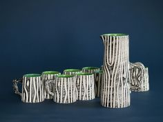 Service 883 by Pol Chambost, France (circa The Selection, Vase, Porcelain, Dishes, Vintage, Design, Contemporary, Tv Storage, Earth
