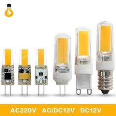1PCS/lot High quality 6W 9W COB LED G4 G9 E14 led Bulb 360 Beam Angle Bombillas Replace Halogen Chandelier Lights Mini G4 G9 LED  Price: $ 7.99 & FREE Shipping   #rc #security #toys #bargain #coolstuff #headphones #bluetooth #gifts #xmas #happybirthday #fun E14 Led, Color Rendering Index, Silica Gel, Cool Tech, Chandelier Lighting, Beams, Bulb, Lights, Free Shipping