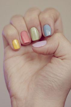 Multicolored Mani - GoodHousekeeping.com