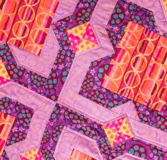When your inner-quilter calls for vibrant color, choose The Kaffe Fassett Not-So-Primrose Quilt Kit! You'll receive a downloadable pattern and FreeSpirit Kaffe Fassett Collective Fabric to sew this refreshingly modern quilt top.