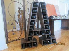 Awesome wine rack!