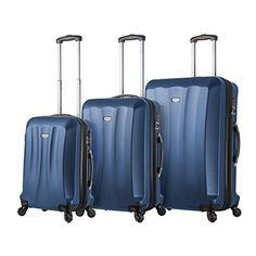 Luggage Sets Collections | Viaggi Siena 3pc Blu Blue * Want to know more, click on the image. Note:It is Affiliate Link to Amazon.