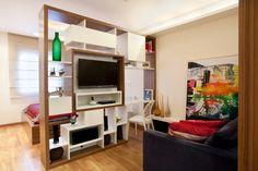 Truques de marcenaria potencializam área útil de apê com 32 m² - Casa e Decoração - UOL Mulher