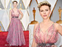 Scarlett Johansson In Azzedine Alaïa – 2017 Oscars
