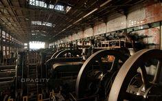 The remains of Bethlehem Steel .