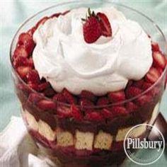 Strawberry Chocolate Trifle from Pillsbury® Baking