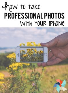 Need a professional photo in a pinch but can't hire someone? Learn how to take professional looking photos with your iPhone | The Tutor Coach