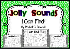 Inspired by Jolly Phonics, this is a sample of the full 42 page document follows the letter progression for books 1 - 7 with an I Spy worksheet for each sound. Students look at the picture and search for the matching letter sound. Simply Print and Go!