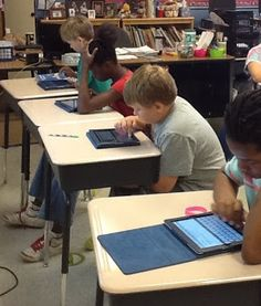 Using Ipads in the classroom. One on one with iPad site to explore