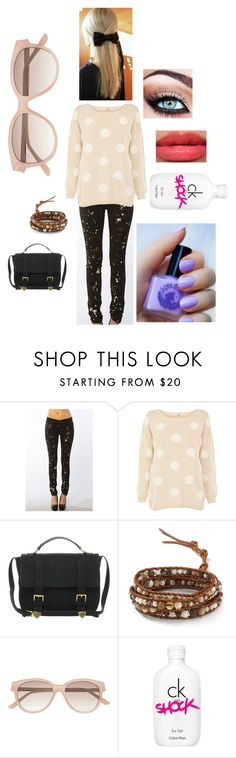 """Untitled #100"" by briza-richards ❤ liked on Polyvore featuring Tripp, Oasis, ASOS, Chan Luu, Lime Crime, Revlon, Witchery and Calvin Klein"