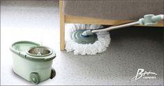 2 Heads Rotating 360 Degree Easy Cleaning Mop Microfiber Spin Floor Mop with Bucket Floor Cleaning Mop, Cleaning Mops, Spin Mop, Spinning, Household, Wheels, Bucket, Flooring, Easy