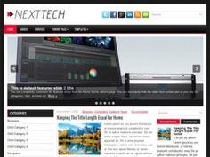 NextTech WordPress theme