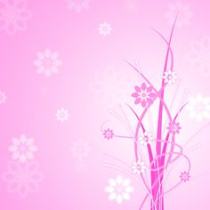 """""""Pink Background Shows Florals Floral And Flowers"""" by Stuart Miles Free Background Images, Free Images, Glow, Florals, Plants, Illustrations, Art, Nature, Floral"""