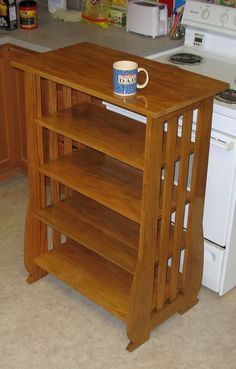 Mission Style Shelves - The Dale Maley Family Web Site