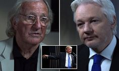 Julian Assange says Trump 'won't be allowed to win' on Tuesday #Daily Mail..