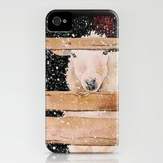 virgin wool iPhone Case by Denise Comeau - $35.00