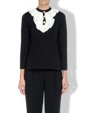 #Moschino Online Store - Maglieria - Maglia maniche lunghe