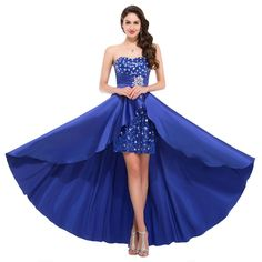Cocktail Dresses Short In Front Long In Back - Prom Stores