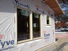 Ply Gem Mira Wood Clad Windows With Ivory Exterior