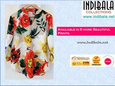 INDIBALA COLLECTIONS :- New Floral Tops.  We are Manufacture of Ladies Apparels from India. Sizes :- Small to XL. Print :- Can also Be Customized. Fabric :- Poly Crepe also be customized. Wholesale Tops # Holiday Tops ## PerfectforanyOccasiontops #Vneck with Shirt Pattern top # Tops In trends # Trendy Look ## Trendy Outfit # Trend For you # Wholesale Tops # Wholesale Fashion Point  #Chinese Collars Tops # Vibrant Print Top   # Summer Top.  www.indibala.net