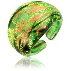 Antica Murrina Laguna - Murano Glass Ring found on Polyvore