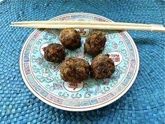 τα κινέζικα κεφτεδάκια της Έτνας Asian Recipes, Ethnic Recipes, Mood, Asian Food Recipes