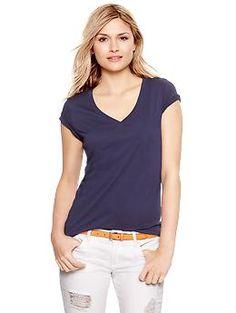 Essential short-sleeve V-neck tee | Gap $12