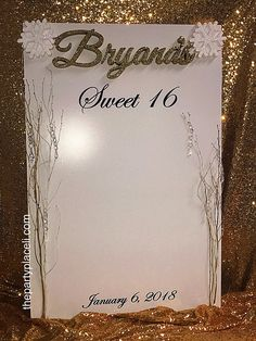 teal elegant sweet sixteen sweet 16 party white custom invite