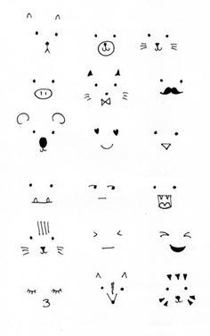 DIY mini planters – One Tiny Tribe Cute Easy Drawings, Mini Drawings, Kawaii Drawings, Doodle Drawings, Doodle Art, Bullet Journal Art, Bullet Journal Ideas Pages, Bullet Journal Inspiration, Kawaii Doodles