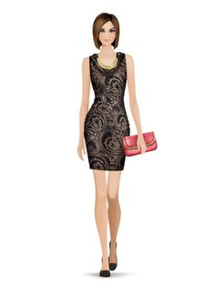 Styled with: Rachel Zoe, Twenty, Cashhimi, Karen London   Create your own look with Covet Fashion