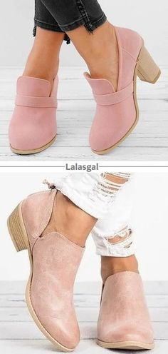 I like the top style. A bit chunky but love the look - maybe I'm just being nostalgic Pretty Shoes, Cute Shoes, Me Too Shoes, Look Fashion, Fashion Shoes, Winter Fashion, Womens Fashion, Botines Casual, Mode Vintage