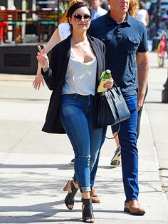 Star Tracks: Wednesday, May 27, 2015 | 'SCENE' IN THE CITY | Demi Lovato is at peace on Tuesday during a stroll around New York City.
