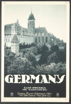 Germany - East Prussia (The Marienburg) - 1930's