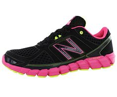 New Balance Womens W750 Athletic Running ShoeBlackPink11 D US -- You can find more details by visiting the image link.
