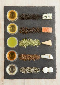 Tea and cheese pairings... What a cool idea! [Tea