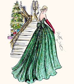 Festive Couture 2014 by Hayden Williams #MerryChristmas