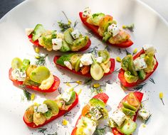 Spring Party Food: Swap Crackers For Red Peppers with Heirloom LA - The Chalkboard