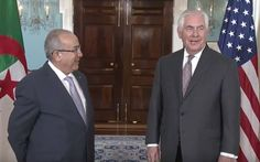 """When NBC News's Andrea Mitchell asked Trump Sec. of State Rex Tillerson if Russia bugged the office, he laughed, and said, """"I would have no way to know that,"""" before walking away. Rex Tillerson, Oval Office, Nbc News, Walks, Bugs, Russia, Politics, Beetles, Insects"""