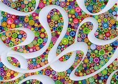 Original Paper Quilling Wall Art. от QuillingbyLarisa на Etsy