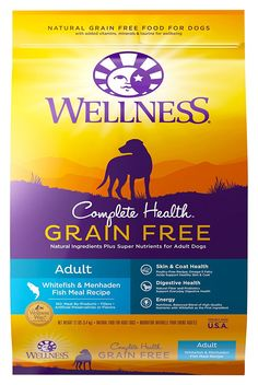 Top 50 Cheap Best Grain Free Dog Food Brands in 2019 dog food recipes grain free Wellness Complete Health Natural Grain Free Dry Dog Food Small Breed Turkey, Chicken & Salmon Canned Dog Food, Wet Dog Food, Dry Cat Food, Puppy Food, Natural Pet Food, Natural Health, Dog Food Recall, Dog Food Reviews, Grain Free Dog Food