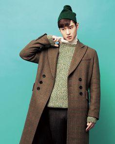 Go Kyung Pyo in Vogue Girl Korea