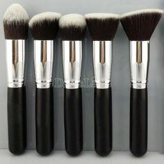 Madera determinada del cosmético Fundación Eyeshadow Pro Make Up Brush