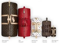 Louis Vuitton Speedy and Keepall