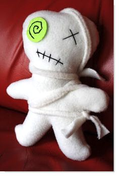How to make your own Zombie Plushie Tutorial