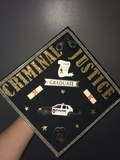 Criminal Justice Graduation Cap                                                                                                                                                     More