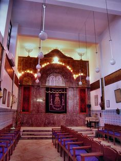 Synagoge for the Jewish community in Marrakesch