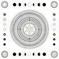 moon phases.. mandalas.. yesss