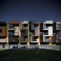 Tetris Apartments, Slovenia